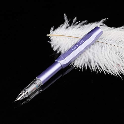 1 Stks 0.38 Mm Nib Kawaii Kantoor Vulpen Creatieve Transparante INKT Ondertekening Pennen School Briefpapier Winkel Levert Transparant Groen