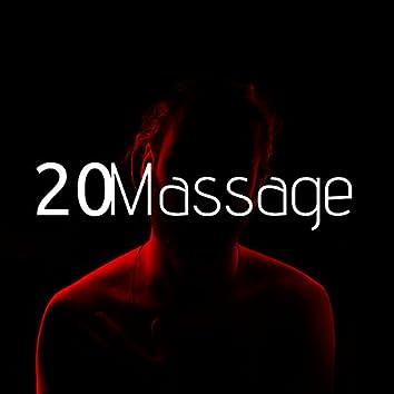 20 Massage - Een massage geeft je namelijk meer energie, verbetert de doorbloeding, verminderd stress, het verwijdert afvalstoffen en zorgt voor een betere ademhaling