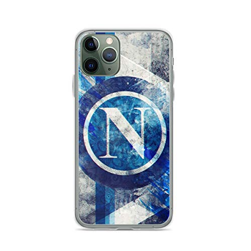 SSC Napoli Pure Clear Custodie per Telefoni Cover iPhone 12/11 Pro Max 12 mini SE X/XS Max XR 8 7 6 6s Plus Custodie