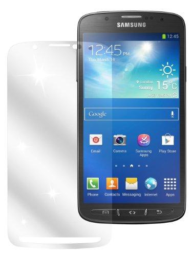 dipos I 2X Schutzfolie klar kompatibel mit Samsung Galaxy S4 Active Folie Displayschutzfolie