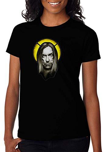 Famous Punk Artist Saint Artwork T-shirt voor dames