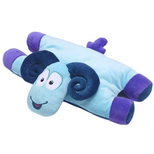 Travel Blue Kinderkissen 287 Sammy der Widder Reisekissen Flauschiges Reisezubehör für den perfekten Schlaf bequem & erholsam in den Urlaub