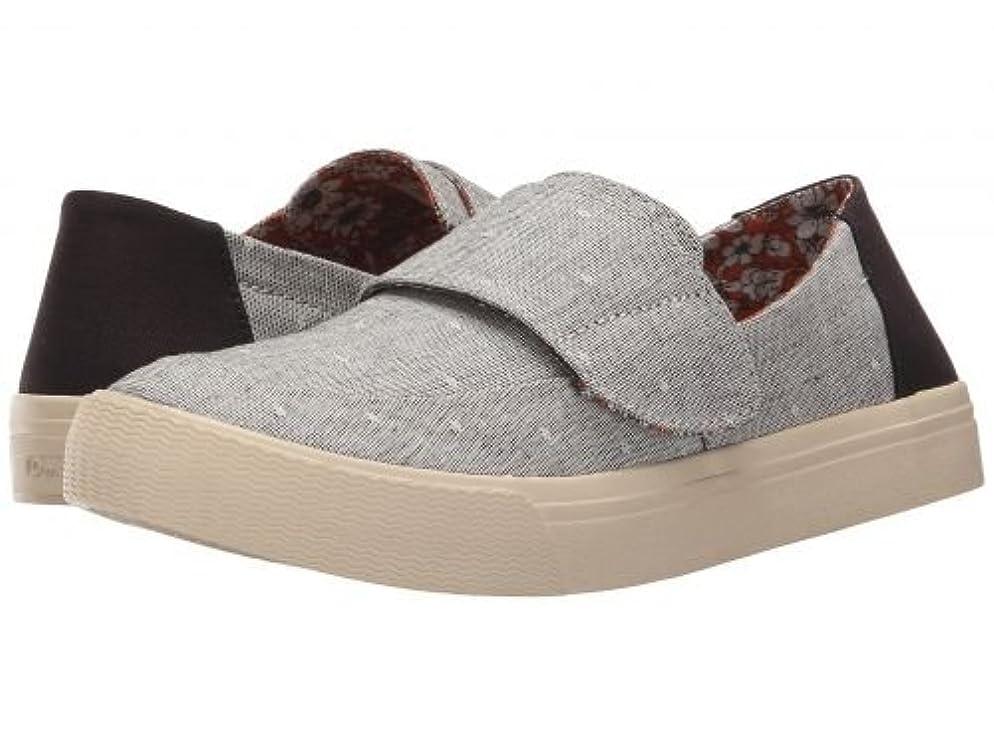 ドラマ冗長コアTOMS(トムス) レディース 女性用 シューズ 靴 スニーカー 運動靴 Altair Slip-On - Grey Chambray Dot [並行輸入品]