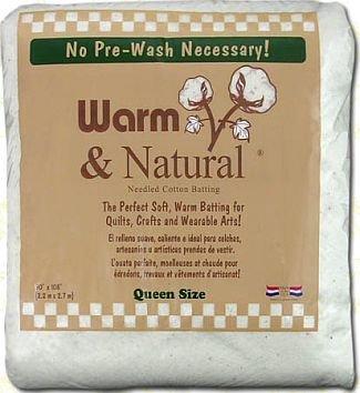 "Warm & Natural Cotton Batting-Craft Size 34""X45"""