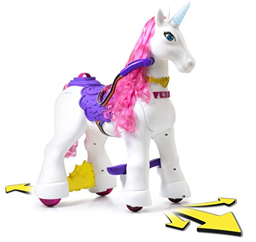 FEBER - My Lovely Unicorn con Melena Rosa, Mascota electrónica y vehículo...