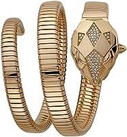 Just Cavalli JC1L073M0035 Ladies Set - Nascosto SET Snake Watch + Pocket Mirror Rose Gold included