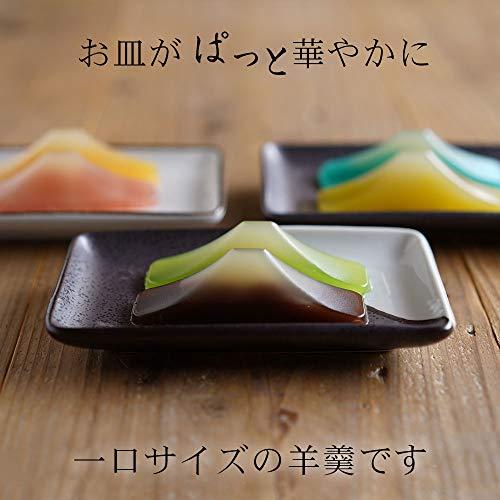 明治食品工業春吉富士富士山羊羹6つの味30g×6個(小豆青柚子ニューサマーオレンジ桜葉枇杷塩各1個)ギフト向け