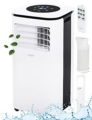 3in1 Mobile Klimaanlage 9000 BTU Fernbedienung Nachtmodus 2 Stufen 24h Timer Fensterkit Aircooler Klimagerät Klima Anlage Air Cooler