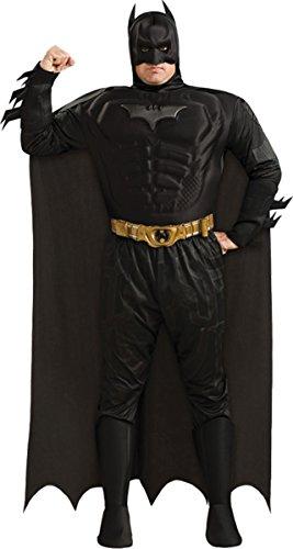 Batman The Dark Knight Deluxe Herren Kostüm Gr. XXL