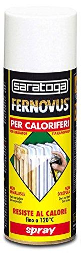 Smalto spray per termosifoni resistente fino a 120° - FERNOVUS BIANCO BRILLANTE