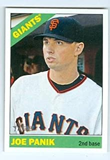 Joe Panik baseball card (San Francisco Giants 2015 All Star) 2015 Topps Heritage #78 Rookie Card