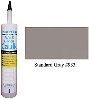 TEC Color Matched Caulk by Colorfast (Sanded) (933 Standard Gray)