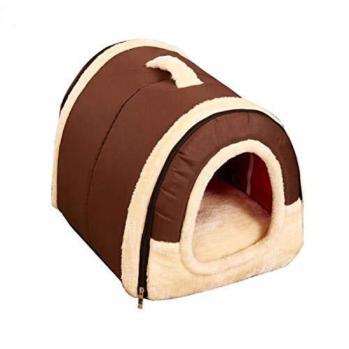 SeaYork Universal Haustier Haus Ziegel Wand faltbar warm und bequem Hund Katze Wurf Haustier Hund Haus liefert 3S