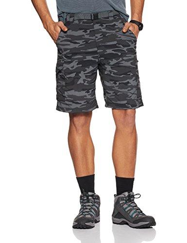 Columbia Silver Ridge Printed Cargo, Pantalone Corto con Tasche Laterali Uomo