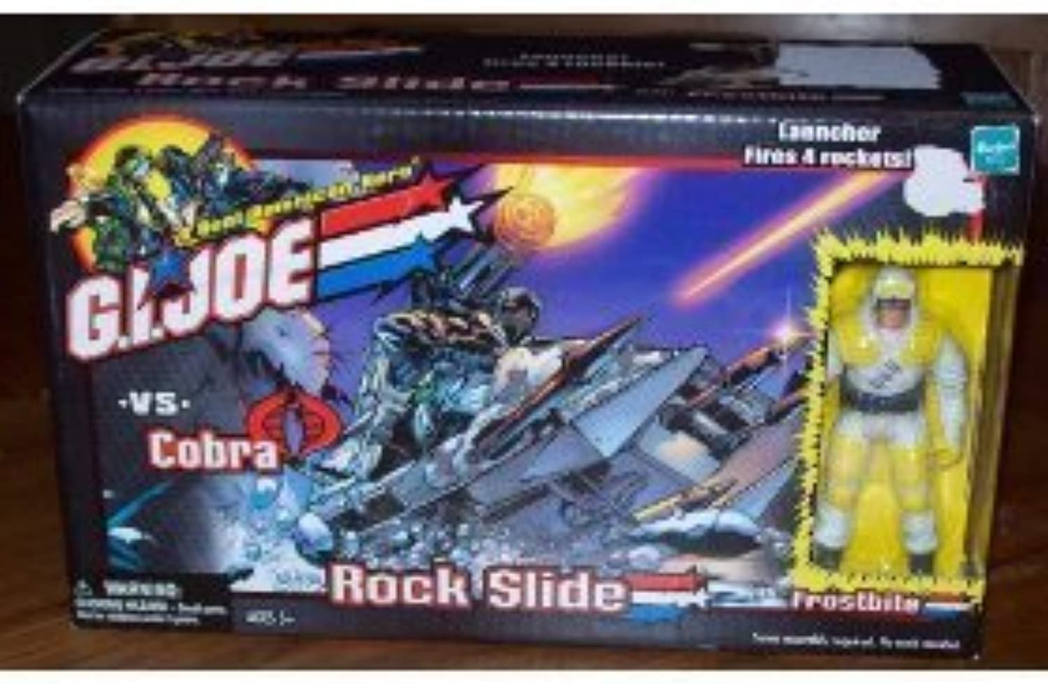 G.I. JOE vs. Rock Slide with Frostbite by G. I. Joe