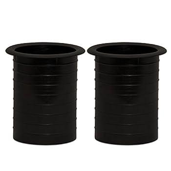 Goldwood Speaker Box Bass Air Ports 2 Speaker Port Tubes Black  PT-308-2