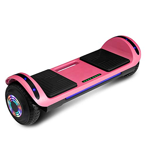 cho Hoverboard Hover Board Electric Scooter Two-Wheel Smart Self Balancing Speaker (Solid Black)