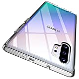 Rayboen Case for Samsung Galaxy Note 10 Plus 5G, Crystal Clear Designed Shockproof Non-Slip Protective Cover, Hard Plastic Back & Soft TPU Frame Thin Phone Case for Galaxy Note 10+ Plus, 6.8 inch