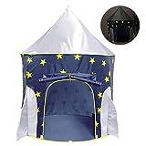 Achort Spielzelt, Prinzenschloss Zelt für Jungs Kleinkinder, Spielhaus für innen und außen,...