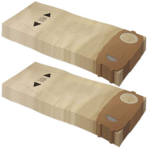 Set 20 sacchetti per aspirapolvere adatti per Vorwerk Folletto VK 118 119 120 121 122 - FP 118-122 - con carta speciale