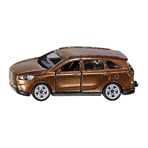SIKU 1489, Kia Sorento, Metall/Kunststoff, Braun, Öffenbare Türen, Anhängerkupplung