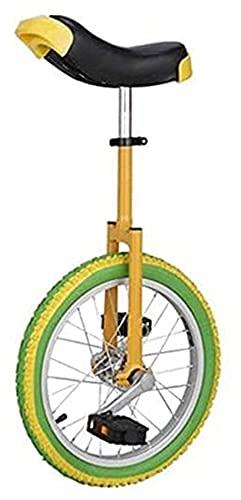 Unisex Bike monociclo, 18/20 pollici e impianti pneumatici Pneumatici monociclo, cuscino ergonomico Design Design...