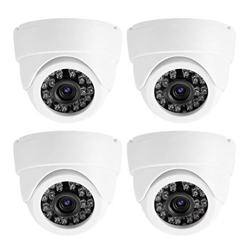 Cámara de Seguridad con cámara Domo de plástico ABS Adecuada para(100-240V European Standard)