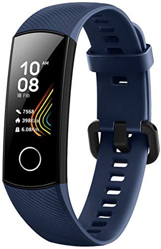 Honor Band 5 wasserdichter Bluetooth Fitness Aktivitätstracker mit Herzfrequenzmesser, AMOLED-Farbdisplay, Touchscreen, Midnight Navy