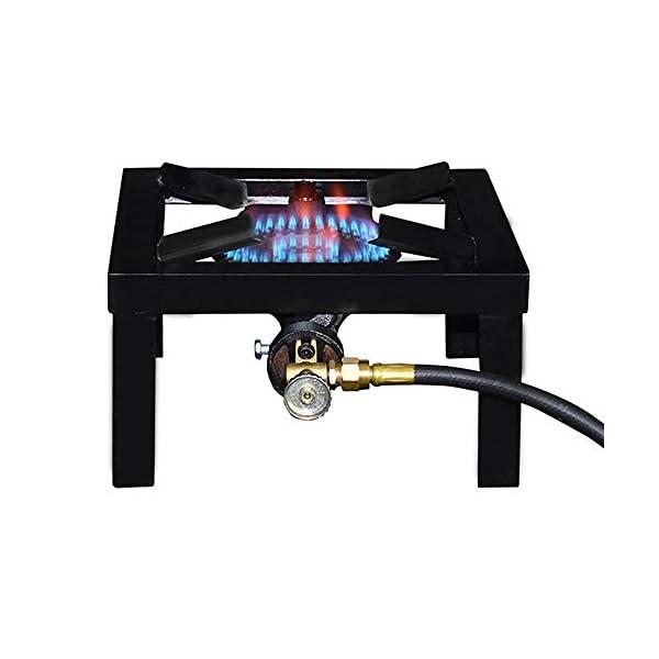 Basecamp F235825 1 Burner Angle Iron Stove, Multi