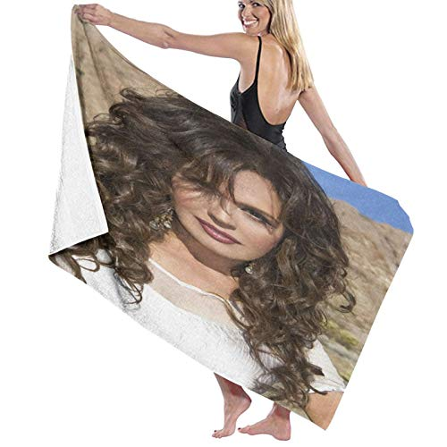 DJFHSER Marie Osmond Home Soft Bath TowelRomantic Valentine's Day Microfiber Quick Drying Beach Towel, Super Absorbent Towel, Sand Free Towel, for Kids, Teens, Adults,32' X 52'