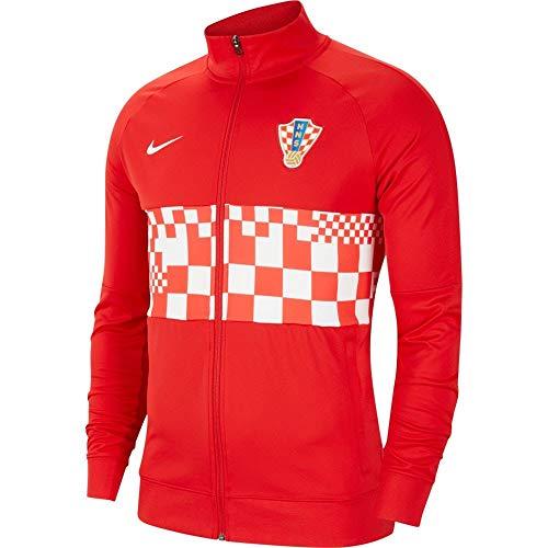 Nike Herren CRO M NK I96 ANTHM TRK JKT Jacke, Rojo/Blanco, S