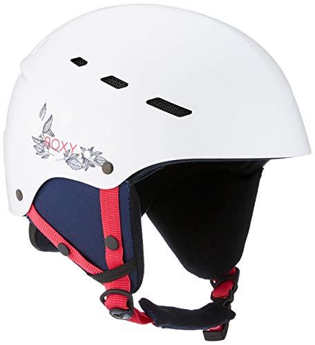Roxy Damen Ollie Ski & Snowboardhelme, Bright White, M/L