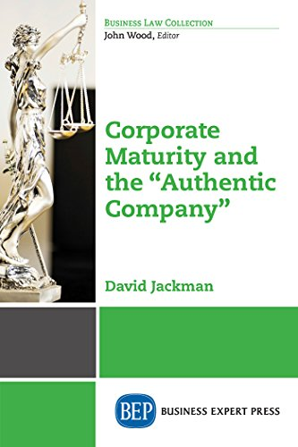 Corporate Maturity and the