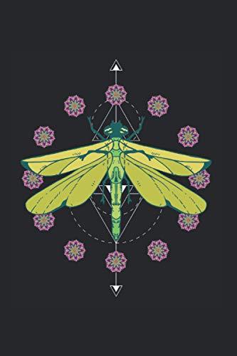 Dragonfly Mandala: Libelle & Yoga Lehrer Notizbuch 6'x9' Mandala Geschenk Für Symbole