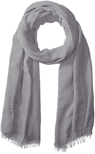 Tickled Pink Women's Lightweight Summer Insect Shield Scarf, Classic Gray, One Size