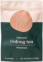 Taiwanese Oolong Tea (Homesick ) 5 Tea Sachets (1 teabag = 3 servings) Taiwan's National Award-Winning Tea - Us Two Tea