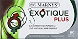 MARNYS Exotique Plus Energía para Actividad Intensa con Guaraná, Taurina, Jalea Real, Ginseng 60 Cápsulas
