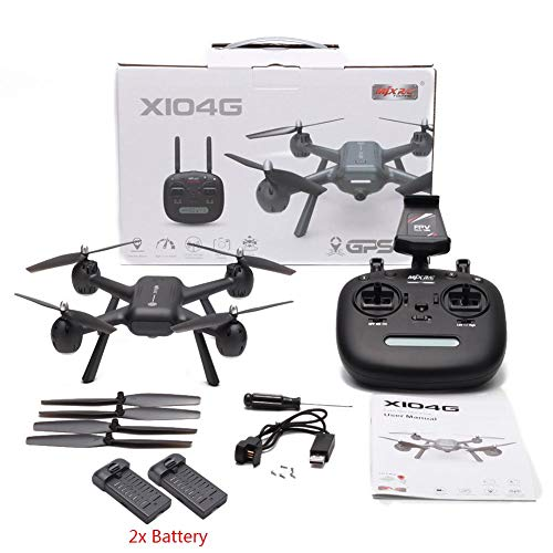 MJX X104G Drone 5G WiFi Camera GPS Real Time Image Transmission Remote Control Quadcopter