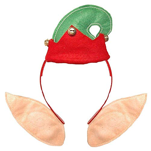 Elf Headboppers - Elf Zieht Stirnband - Weihnachten-Kostüm (DP49) Fein an