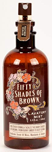 Blue Q Fifty Shades of Brown Lavatory Mist [Tools & Home Improvement] [Tools & Home Improvement]