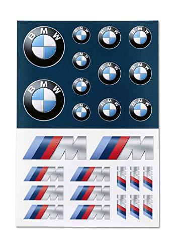 BMW Original Aufkleber-Set M Logo