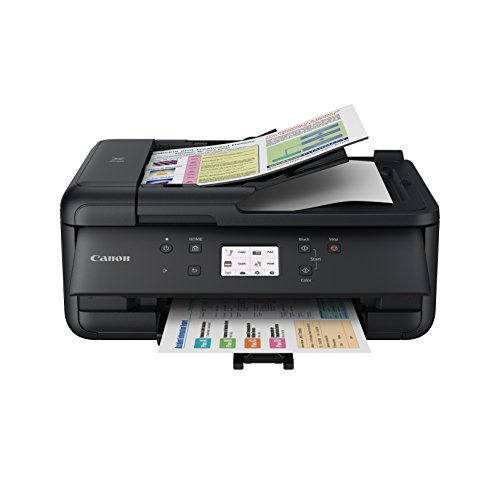 Canon TR7520 Wireless Color Photo Printer with Scanner, Copier & Fax