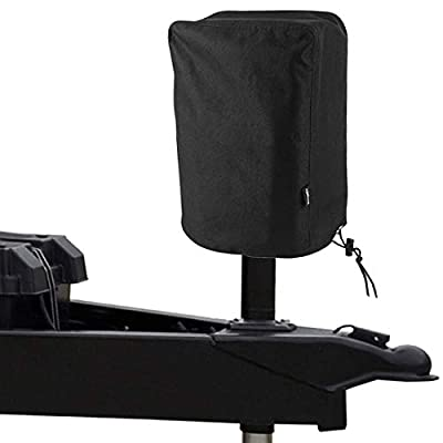BougeRV 600D Polyester Electric Tongue Jack Cover RV Accessories Universal Trailer RV Electric Tongue Jack Protective Cover Camper Accessories for Outside (Large Size 14″H x 5″W x 10″D) from BougeRV