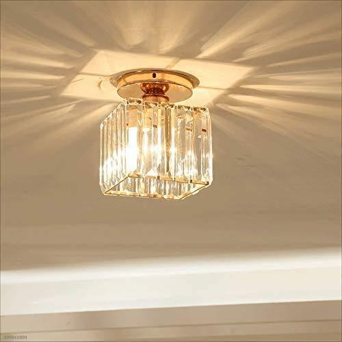 HTL Luz Del Pendiente de la Araña de Cristal de Mini Estilo para el Pasillo, el Dormitorio, la Cocina, la Iluminación Del Montaje [Energy Class a +]