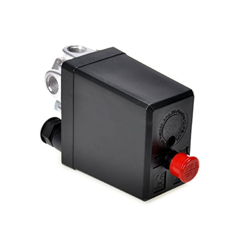 Air Compressor Pressure Switch Control Valve 90-120 PSI 240V