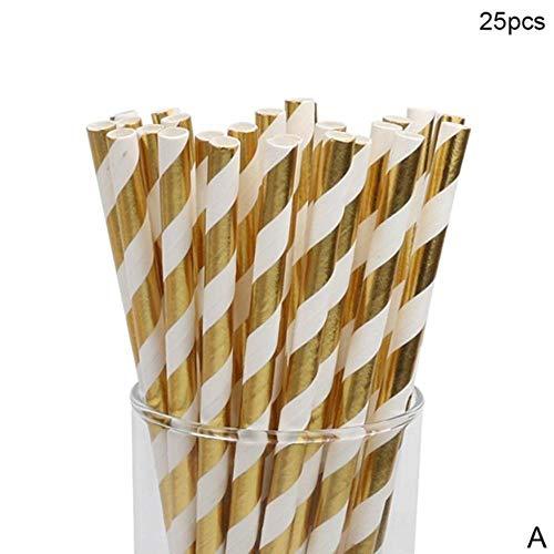 Aomerrt Drinkende papieren kluis, 25 stuks, voor babyshower of shower