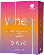 When Expect More Assorted Sheet Mask Set - 8-pack