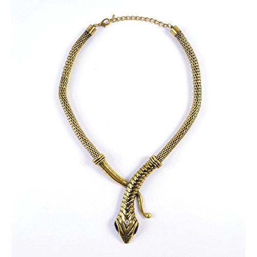 Bristol Novelty BA1008 Snake Necklace, Womens, One Size