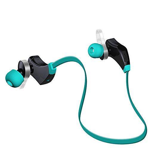 Express Panda Bluetooth Sport auricolari con microfono integrato - cuffie stereo wireless con microfono per ascoltare musica e chiamate con fare sport e attività di fitness