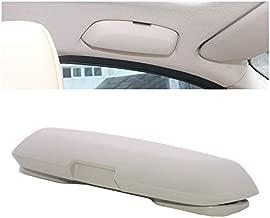 SRXTZM for BMW 1 3 5 5GT X3 X4 X5 X6 F20 F21 F30 F31 F34 F07 F10 F11 F18 F01 F03 G11 Car Glasses Holder Case Sunglasses Storage Box Replace for Driver Side Overhead Grab Handle (Light Beige)